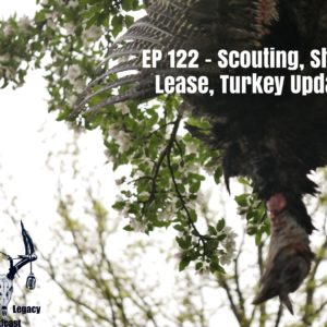 Episode 122 – Sheds, Scouting, Lease, Turkey Update